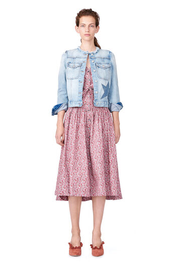 La Vie Star Denim Jacket - Ciel Wash