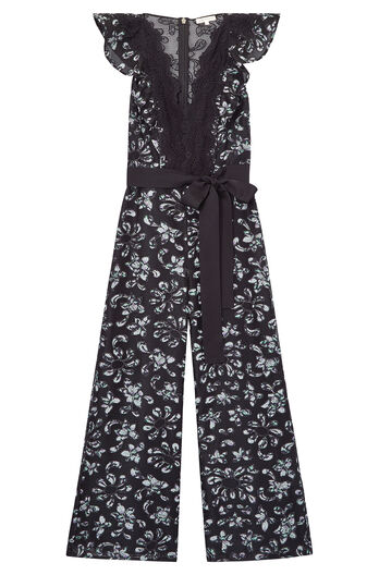 Moonflower Embroidered Jumpsuit