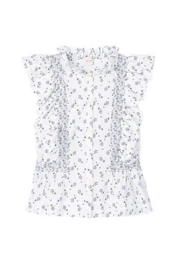 La Vie Breeze Print Top