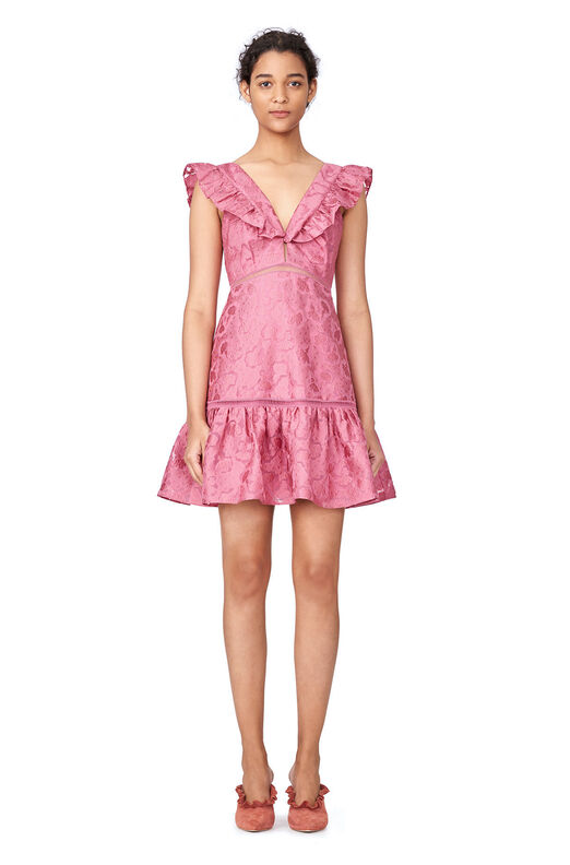 Aly Fil Coupe Dress - Bloom