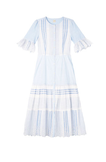 La Vie Variegated Stripe Dress