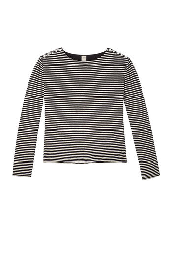 La Vie Stripe Jersey Top