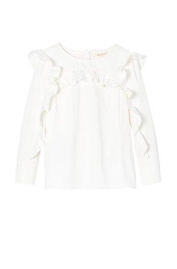 Cotton Ruffle Top