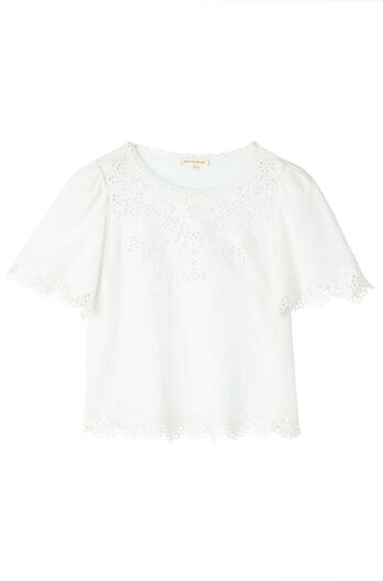Amora Embroidered Top