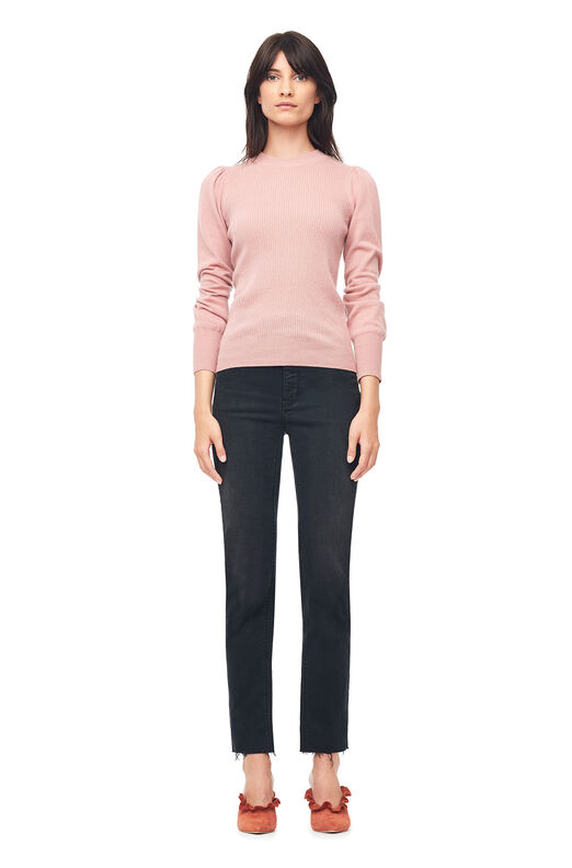 Cashmere Ribbed Pullover - Clay