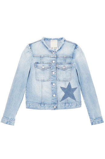 La Vie Star Denim Jacket