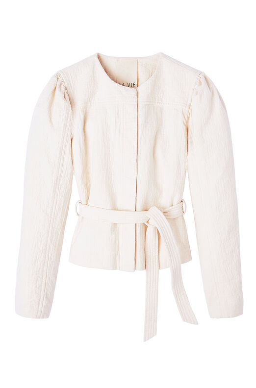 La Vie Double-Weave Cotton Jacket
