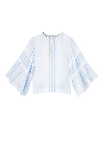 La Vie Variegated Stripe Top