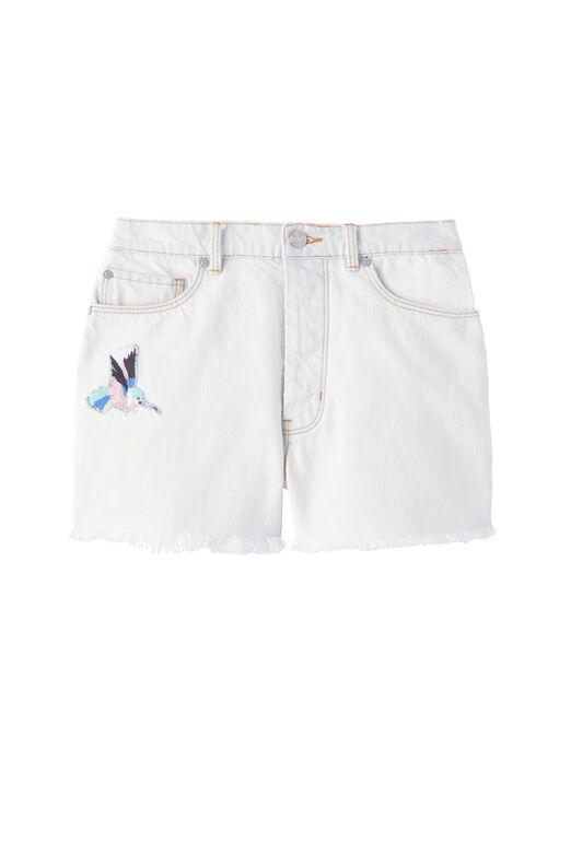La Vie Bird Patch Short