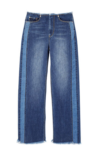 La Vie Raw Edge Jean