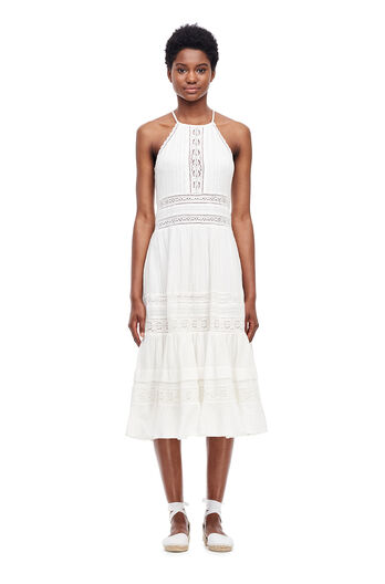 Gauze Midi Dress - Milk