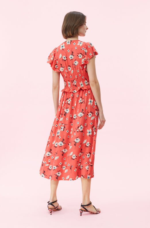 Daniella Floral Smocked Dress
