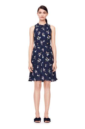 Natalie Fleur Dress - Dark Navy Combo