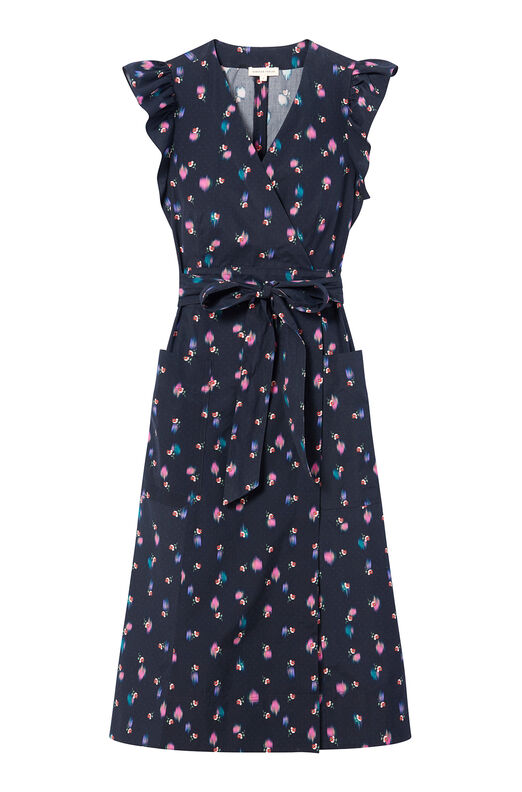 Farren Flower Poplin Dress