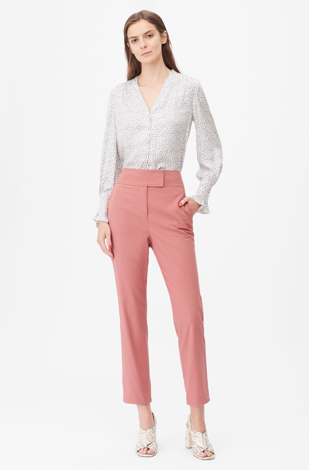 Tailored Stretch Modern Suiting Pant, , large