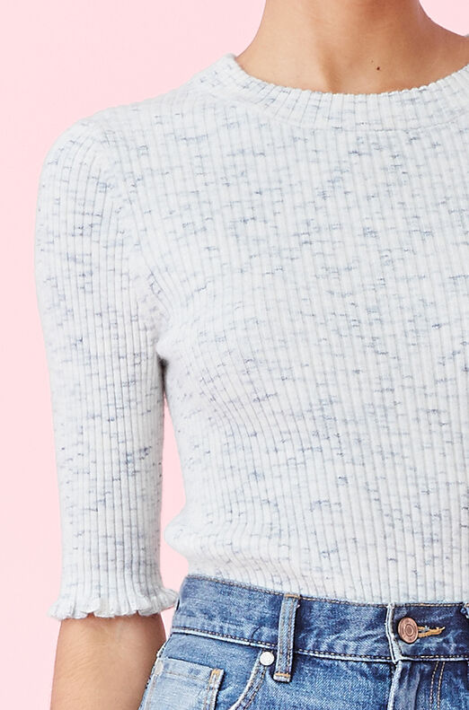 La Vie Spacedye Knit Pullover
