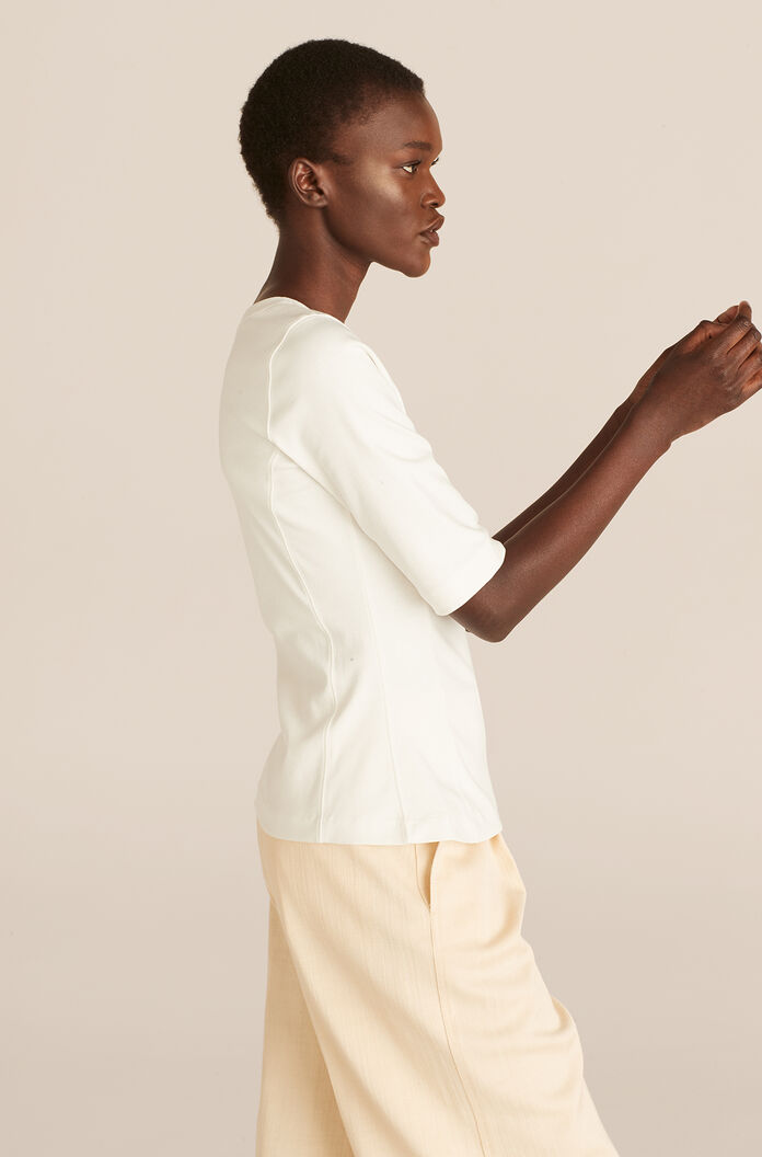 Refined Tee, Snow, large