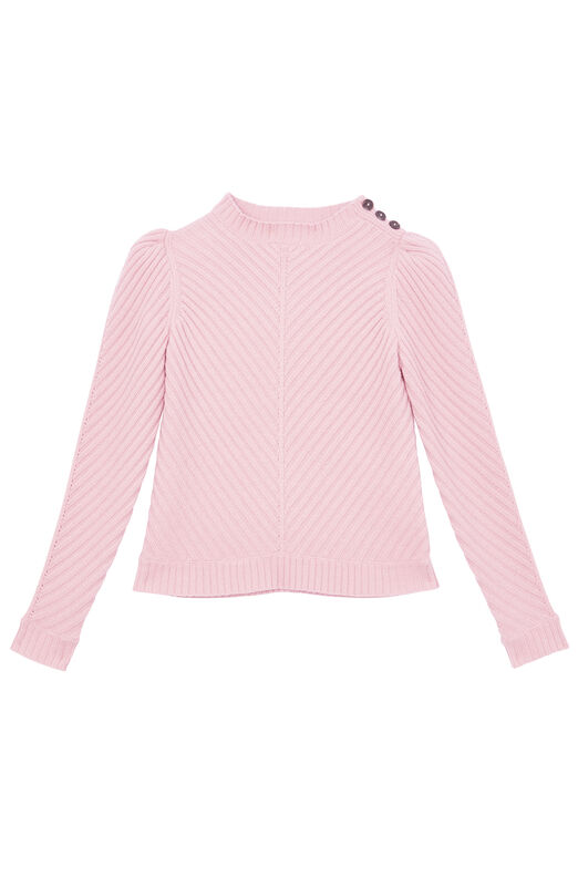 La Vie Ribbed Knit Pullover