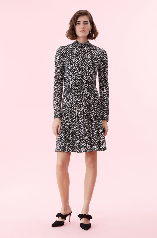Mini Cheetah Jersey Dress