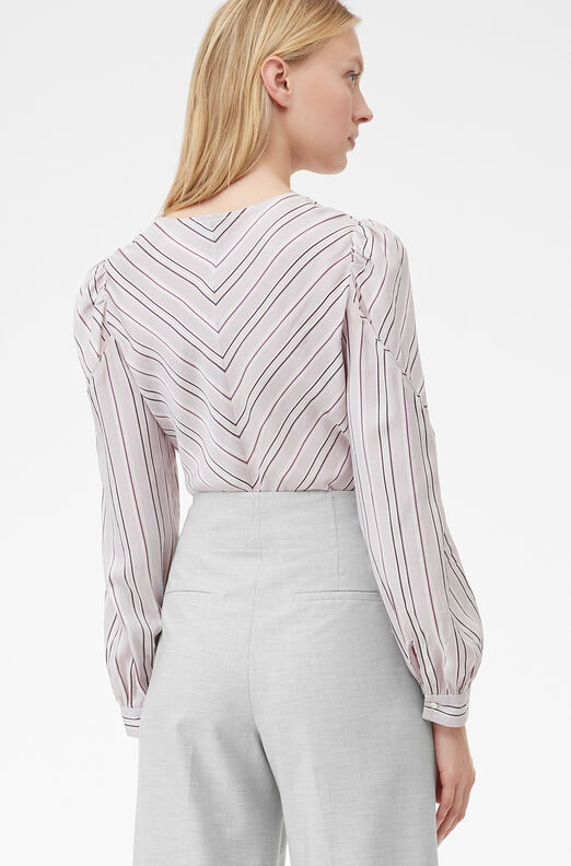 Tailored Juniper Stripe Top