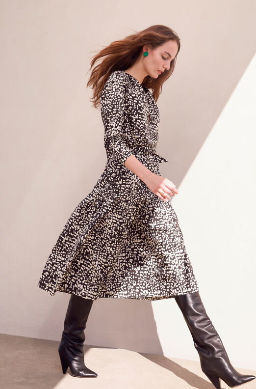 La Vie Dot Print Dress