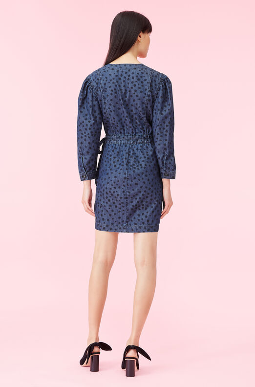 La Vie Le Faune Denim Dress