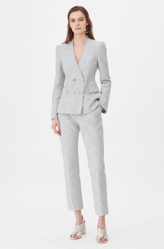 Tailored Slub Suiting Jacket