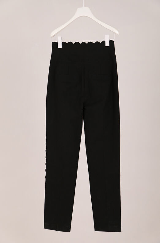 Recollect Scalloped Suiting Pant