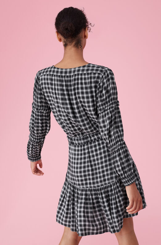 La Vie Plaid Dress