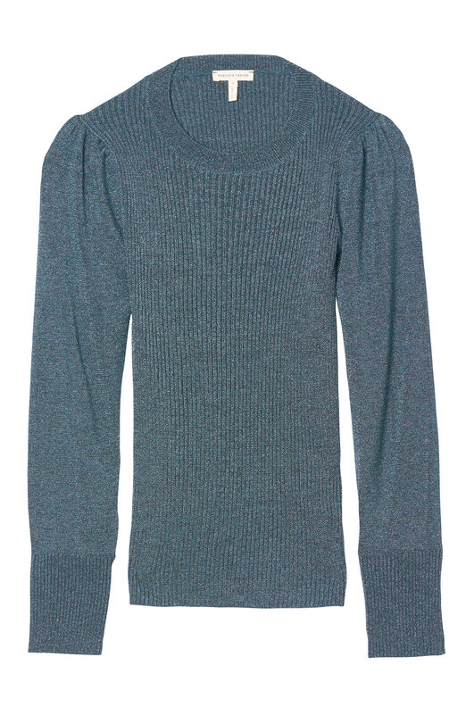 Lurex Ribbed Pullover