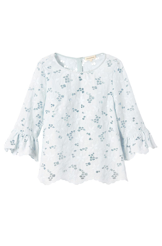 Adriana Embroidered Top