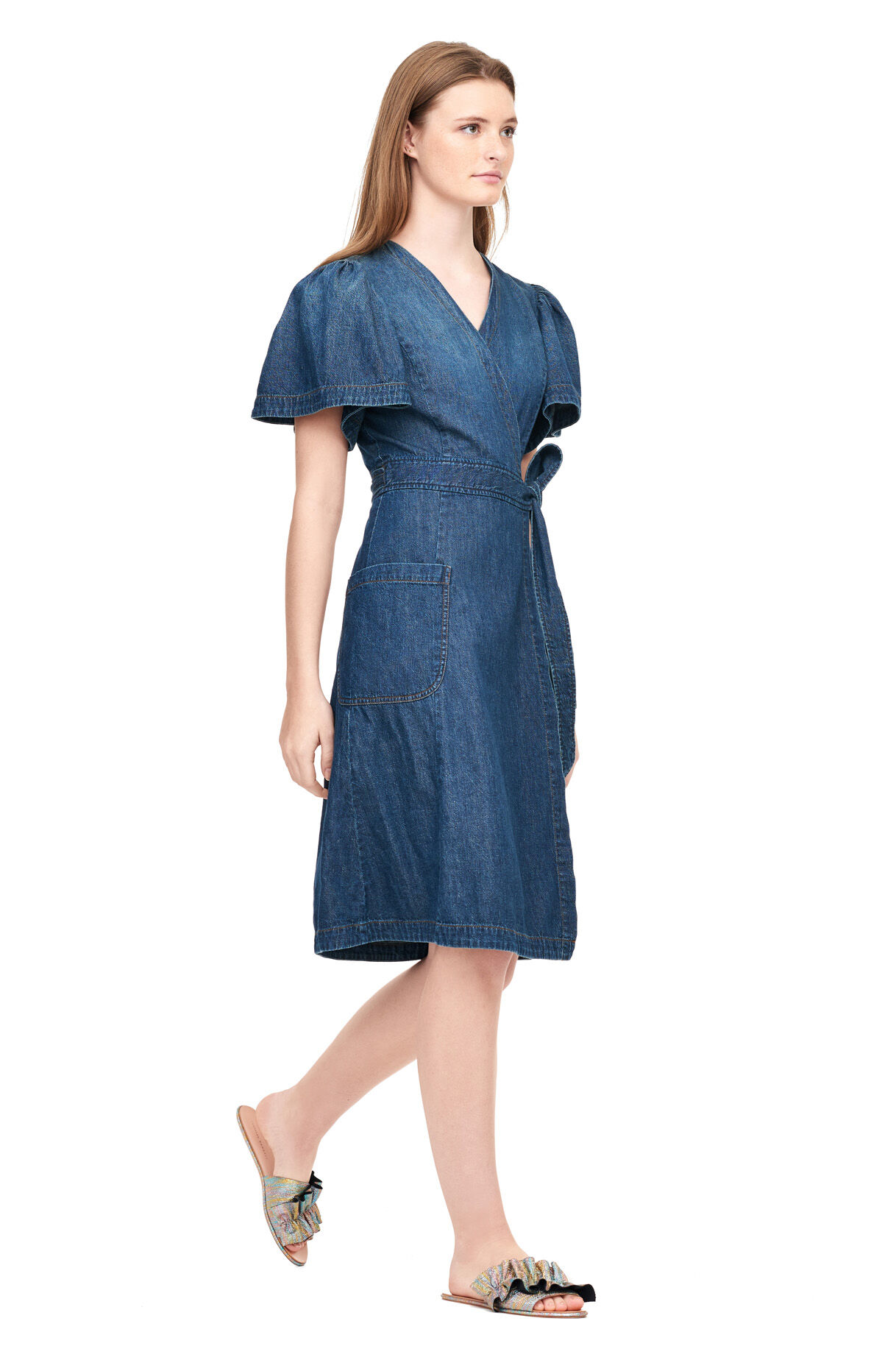 01a28cb3ff0 ... La Vie Drapey Denim Dress ...