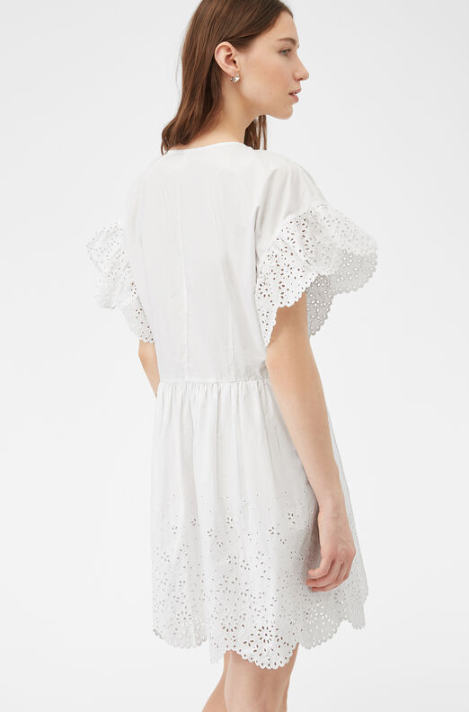 La Vie Etienne Eyelet Dress
