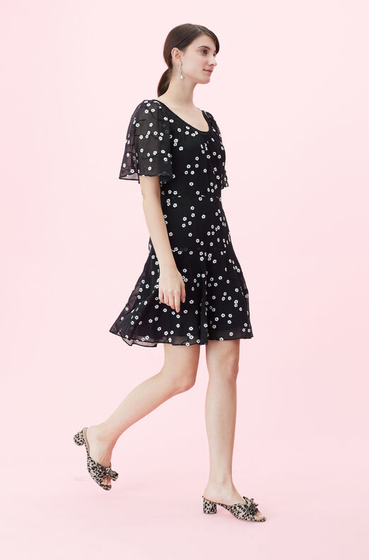 Alessandra Embroidered Dress