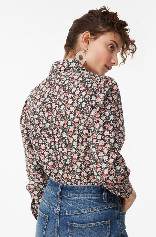 La Vie Ariane Rose Mini Poplin Top