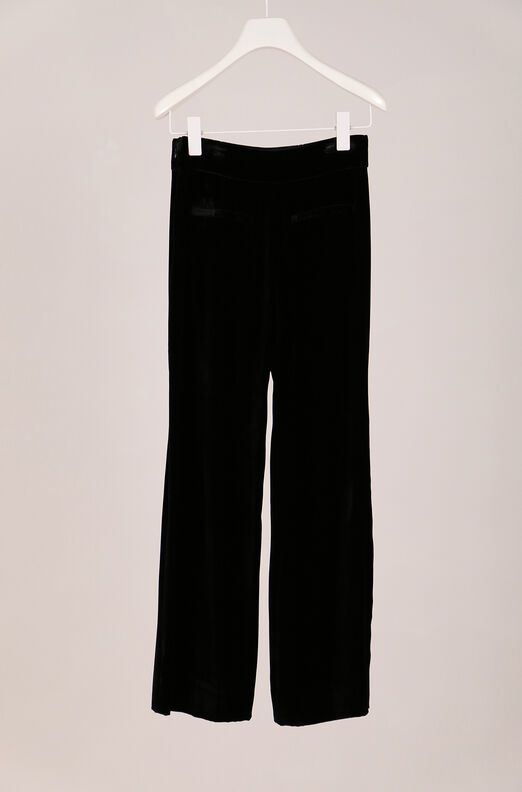 Recollect Velvet Wide Leg Crop Pant