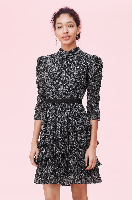 Celia Lace Clip Dress