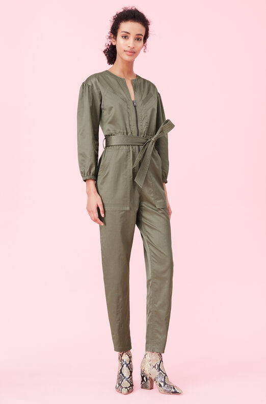 Sateen Jumpsuit