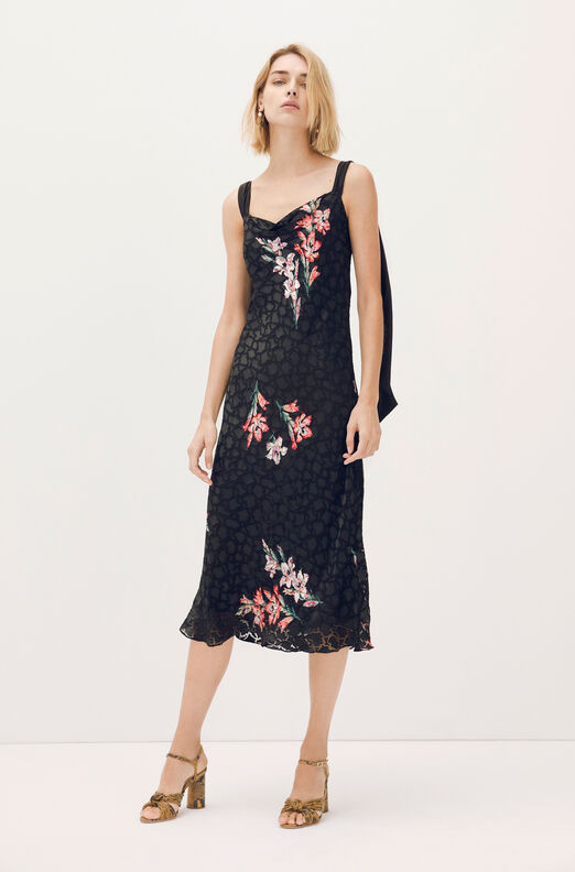 Noha Floral Tank Dress