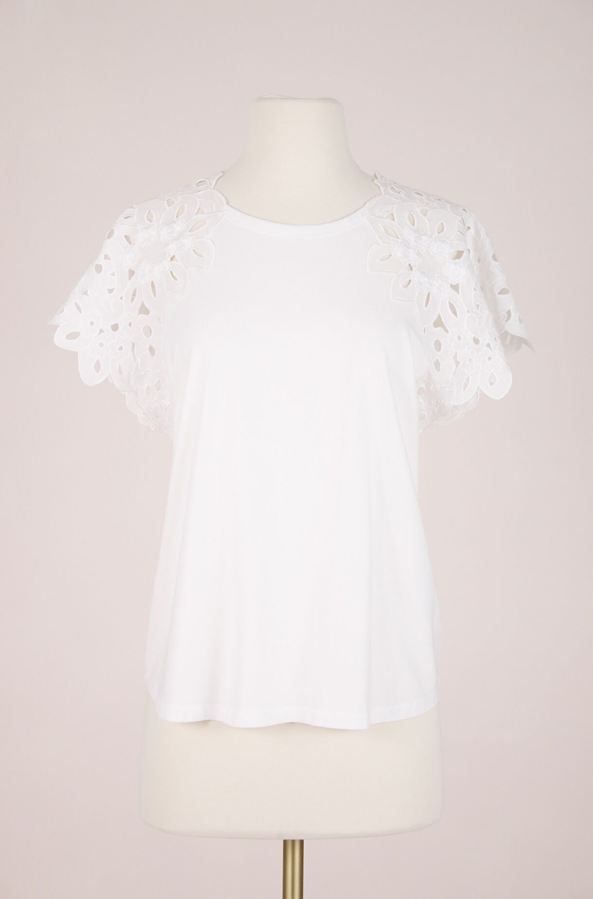 ReCollect La Vie Embroidered Tee