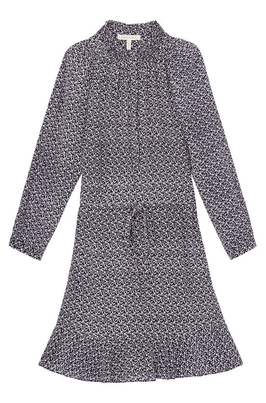 Static Print Shirtdress