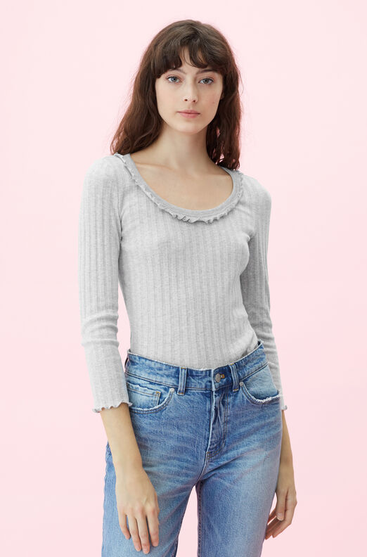 119364B977-Pale Grey Heather