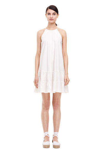 Cotton Tank Dress - Milk