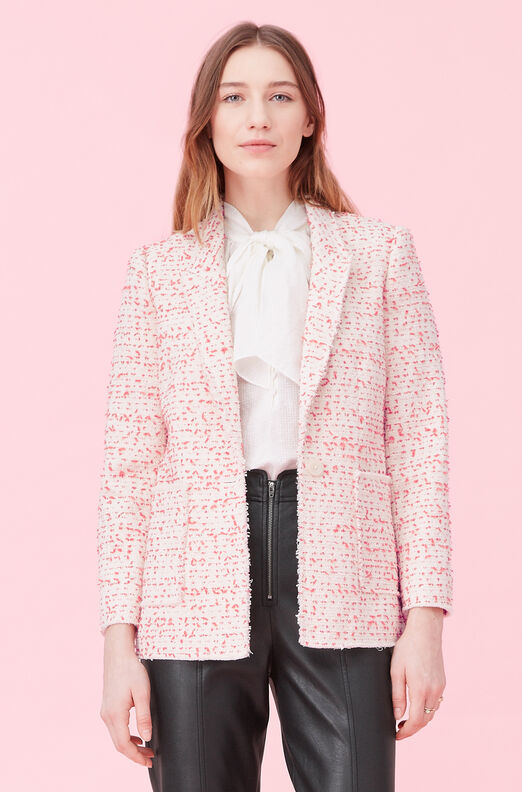 Beckie Tweed Jacket, Poppy Combo, large