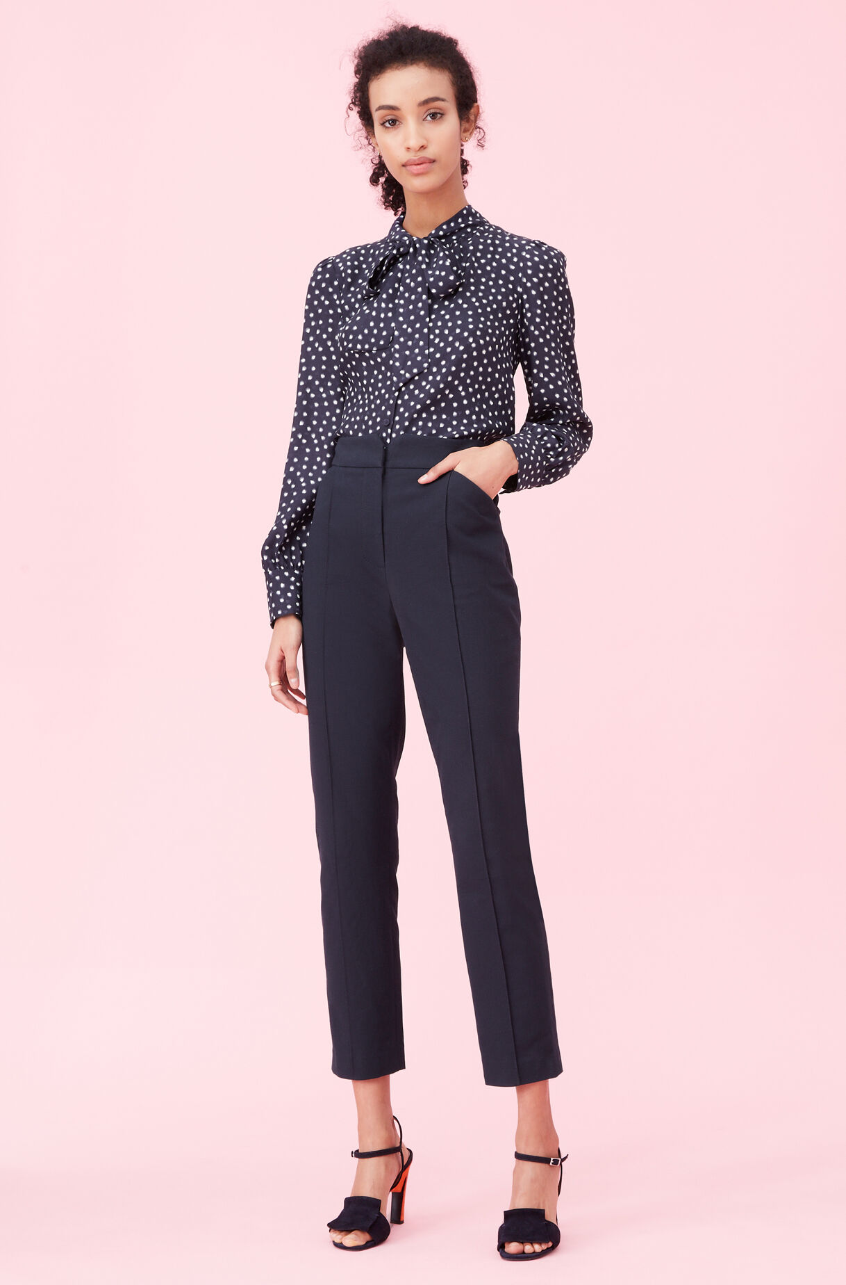 Notch Suiting Pant, Navy, large