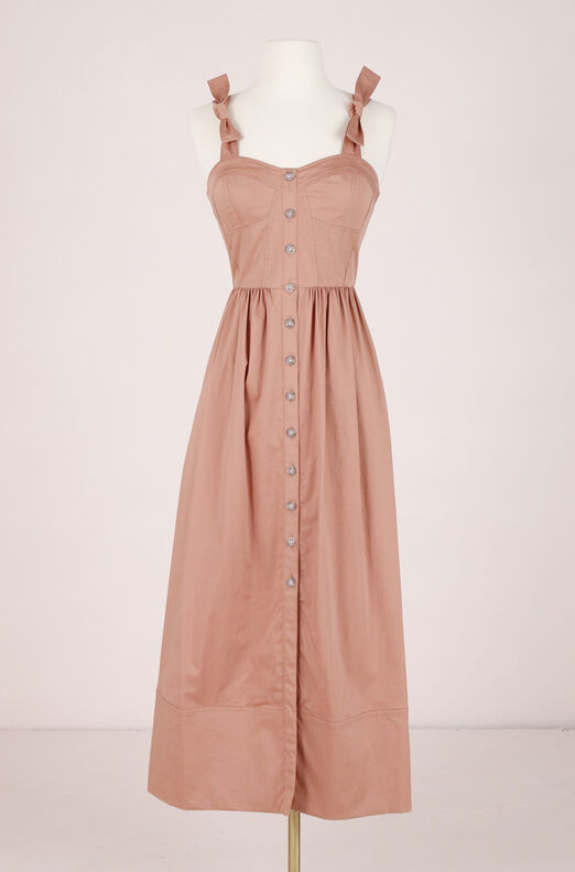 ReCollect Cotton Midi Dress