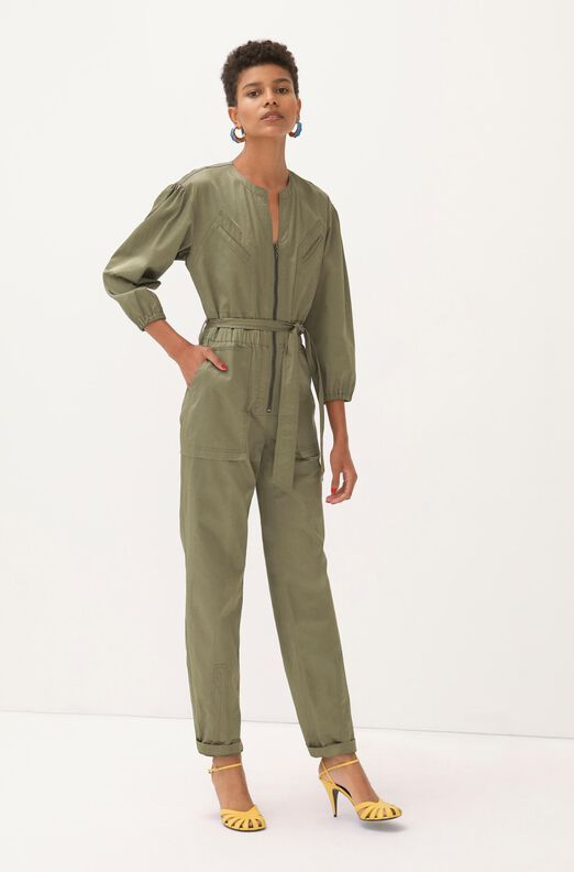 Sateen Jumpsuit, Armory, large