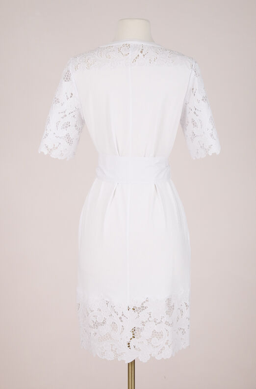 ReCollect La Vie Embroidered Clean Jersey Dress