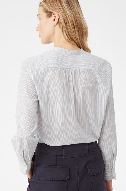 La Vie Stripe Lace Top