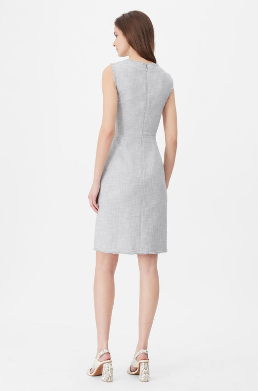 Tailored Slub Suiting Dress